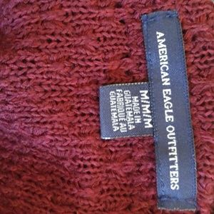 American Eagle Outfitters Sweaters - American Eagle Burgundy Cardigan
